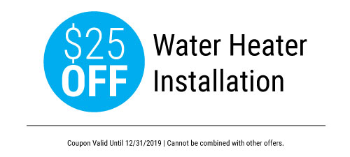 $25 Water Heater Installation - Call Plumbing Solutions today to schedule your installation.
