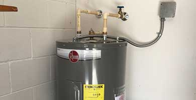 Tank water heating services! Call us today.
